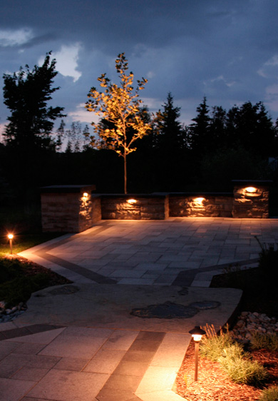 Fire Light Design Brydges Landscape Architecture Inc